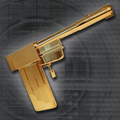 James bond 007: the golden gun limited edition prop replica.