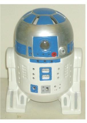 Vintage Unliscensed R2 D2 Ceramic Lamp